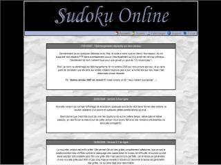 Capture d'écran Sudoku Online