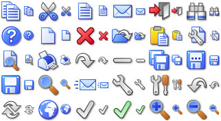 Capture d'écran Custom Icon Design