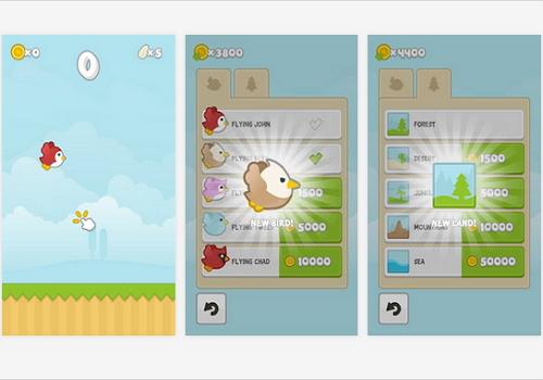 Capture d'écran Flying John Android