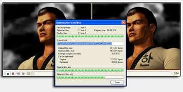 Capture d'écran Compress SWF