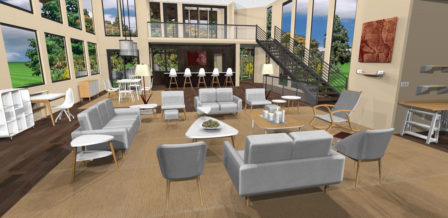 Capture d'écran Architecte 3D Platinum 2017