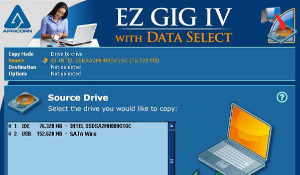 Capture d'écran EZ Gig IV