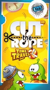 Capture d'écran Cut the Rope: Time Travel HD