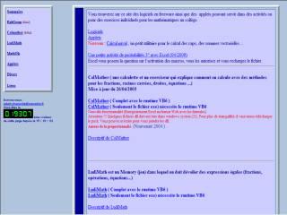 Capture d'écran MathOK