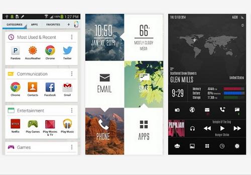 Capture d'écran Themer Beta Android