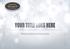 Logo Pack d'Effets pour ProShow