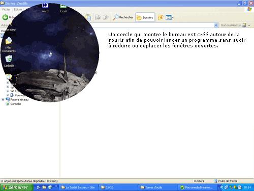 Capture d'écran Petits utilitaires – Bureau