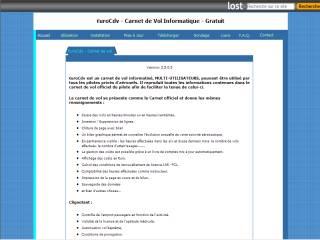 Capture d'écran EuroCdv
