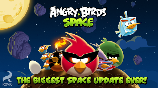 Capture d'écran Angry Birds Space