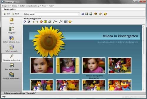 Capture d'écran PixExpose