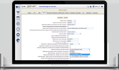 Capture d'écran Fastmag Négoce