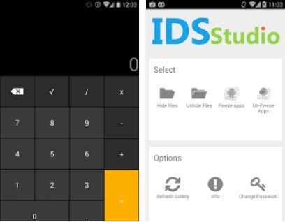Capture d'écran Smart hide Calculator