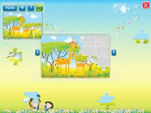 Capture d'écran Animals Puzzle