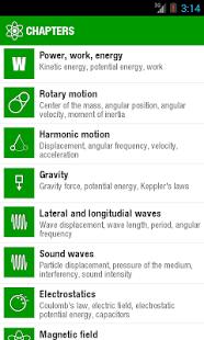 Capture d'écran Physique de poche