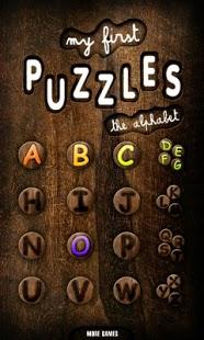 Capture d'écran Mes premiers puzzles Alphabet