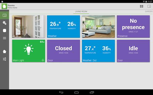 Capture d'écran Archos Smart Home