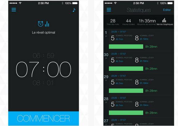 Capture d'écran Réveil Intelligent Gratuit iOS