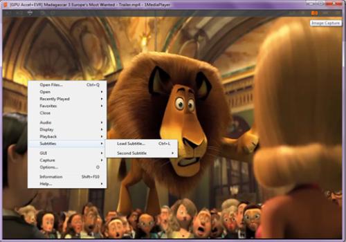 Capture d'écran 1MediaPlayer