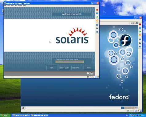 Capture d'écran Parallels Workstation for Windows