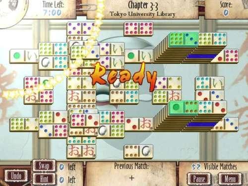 Capture d'écran Mah-Jomino