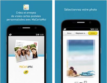 Capture d'écran MaCartaMoi Android