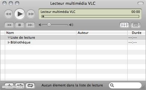 Capture d'écran VLC Media Player Portable