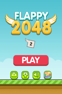 Capture d'écran Flappy 2048 – Endless Combat