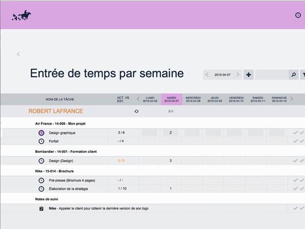 Capture d'écran Frontiva