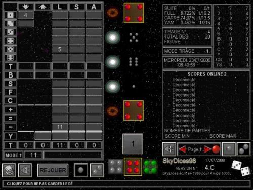 Capture d'écran SkyDices98
