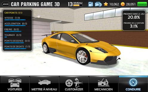 Capture d'écran Car Parking Game 3D