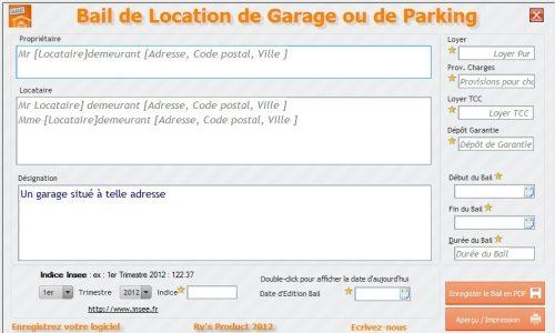 Capture d'écran FastBail Garage