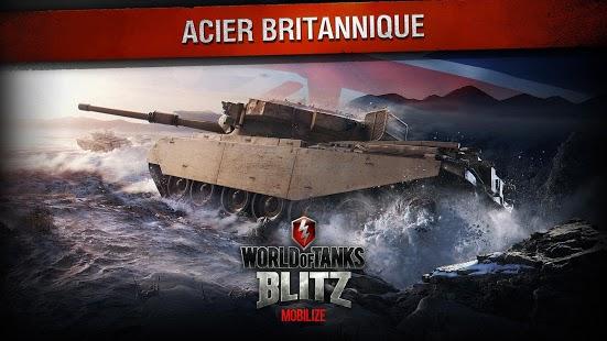 Capture d'écran World of Tanks Blitz