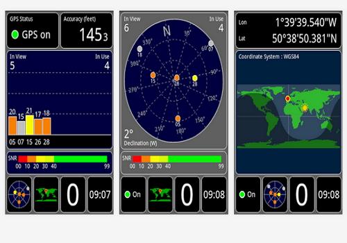 Capture d'écran GPS Test Android