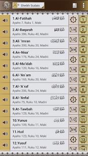 Capture d'écran Al-Quran Karim anglais