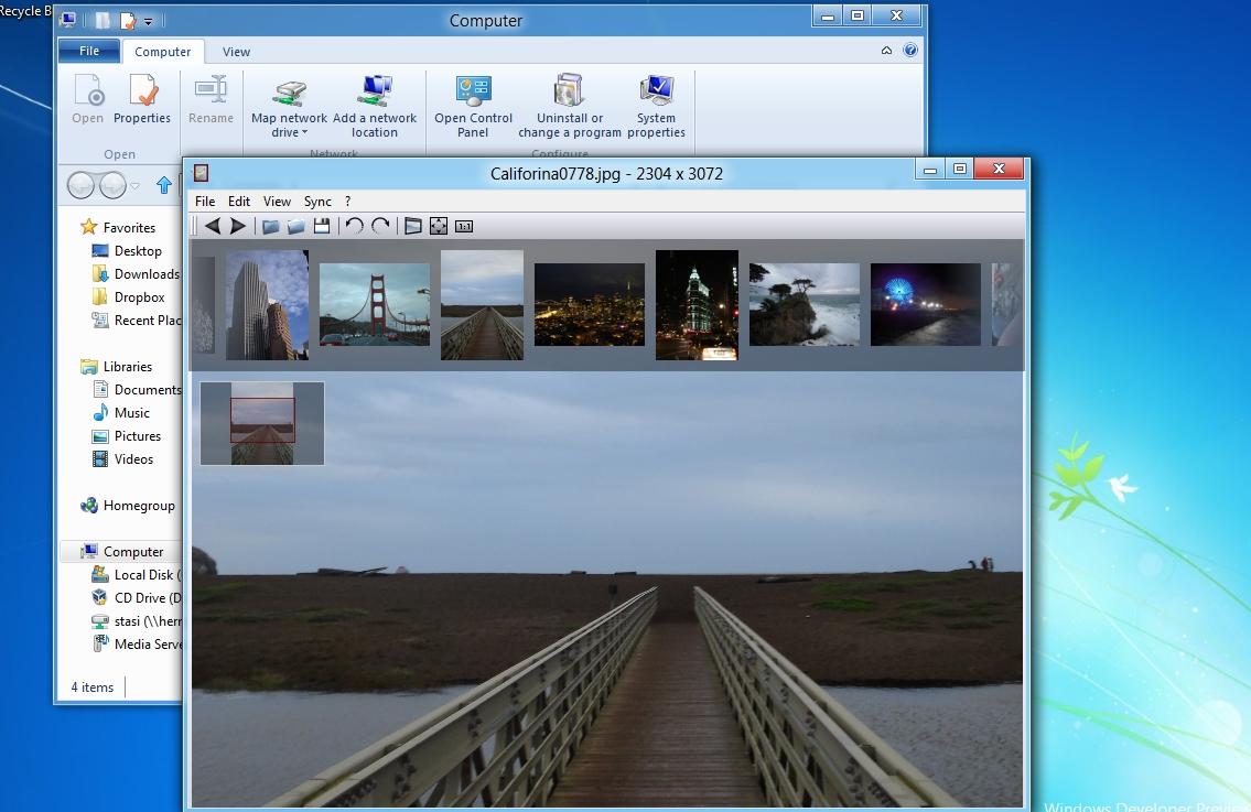 Capture d'écran Nomacs