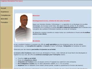 Capture d'écran Méthodologie et Organisation