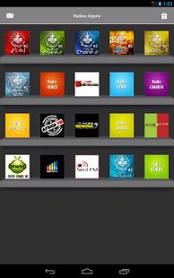 Capture d'écran Radios Algerie Top radio Alger