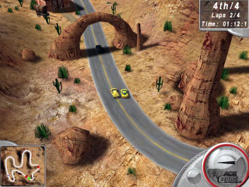 Capture d'écran Hot Racing 2