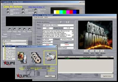 Capture d'écran ToupicVid