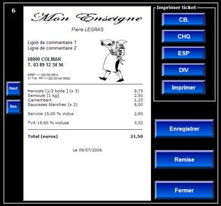 Capture d'écran CashStation-U