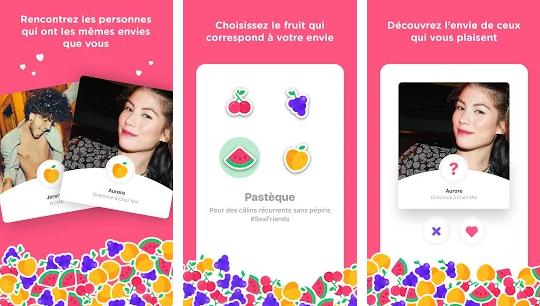 Capture d'écran Fruitz iOS