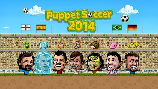Capture d'écran Puppet Soccer 2014 – Football
