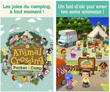 Capture d'écran Animal Crossing Pocket Camp iOS