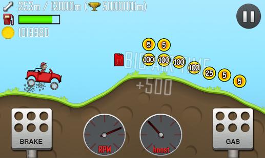 Capture d'écran Hill Climb Racing