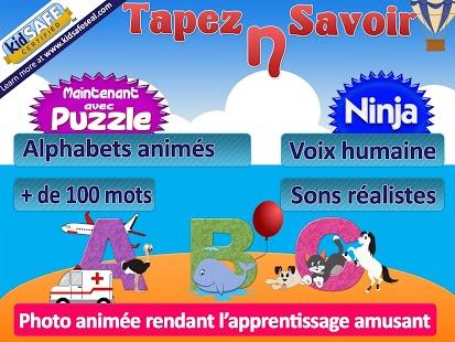 Capture d'écran Alphabet français enfant lite