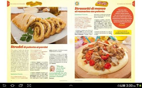 Capture d'écran La Prova del Cuoco Magazine