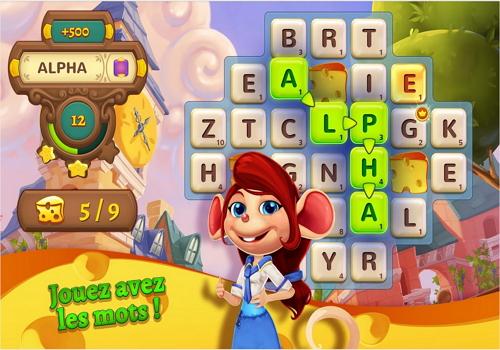 Capture d'écran AlphaBetty Saga iOS