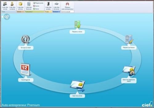 Capture d'écran Ciel Auto-entrepreneur Premium
