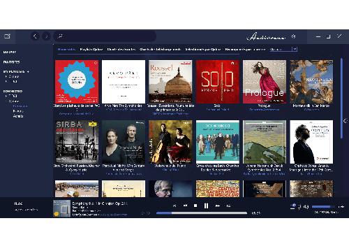 Capture d'écran Audirvana Plus pour Windows