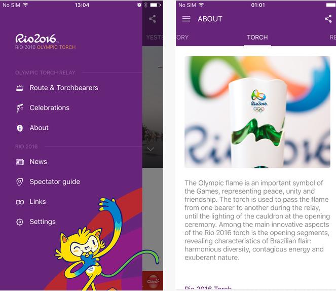 Capture d'écran Rio 2016 Android